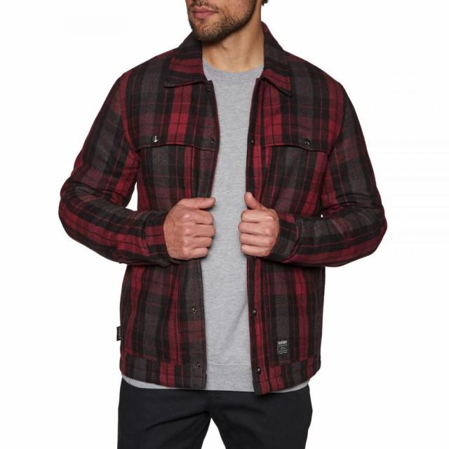 春早割 エトニーズ Etnies メンズ アウター ジャケット アウター Nantan Wool Wool Jacket Red エトニーズ/black, アイビースクエア オルゴール:a3a9c573 --- kzdic.de