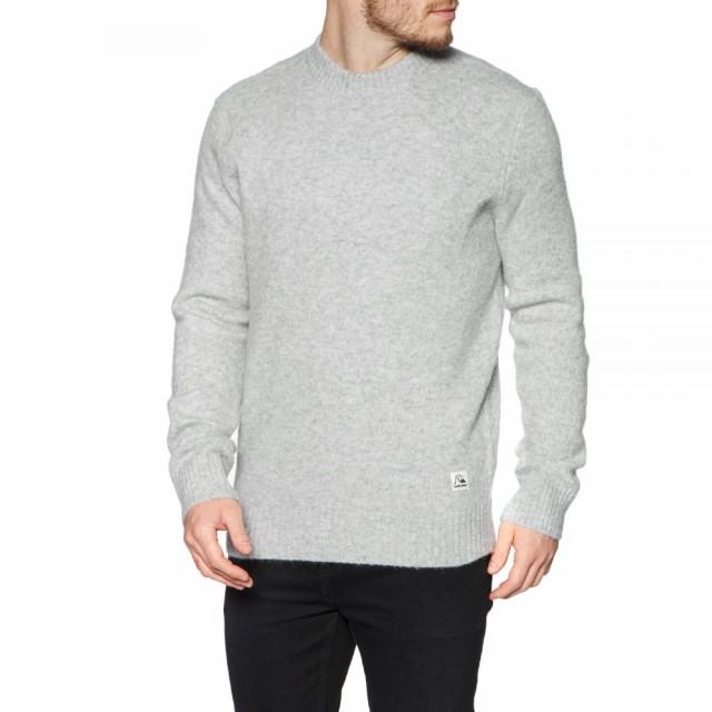 素晴らしい価格 クイックシルバー Quiksilver メンズ ニット・セーター トップス Arumpo Mungo Sweater Light Grey Heather, お茶のくわ乃園 8de24a72