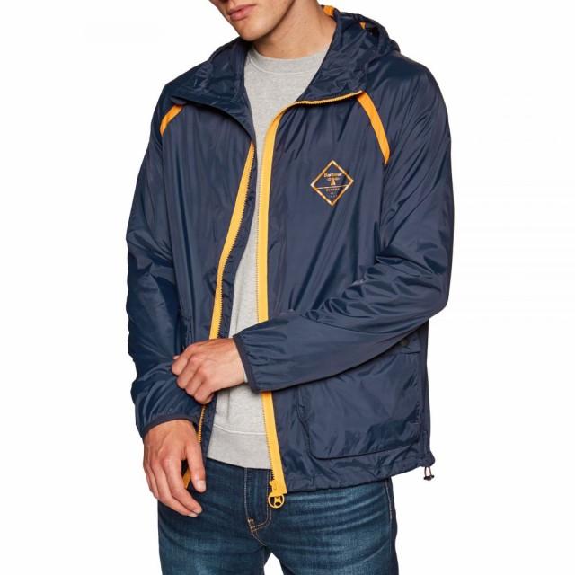 【在庫処分】 バブアー Barbour メンズ コート アウター B.beacon Bowhill Parka Jacket Navy, 金の豚 6a7dea3d
