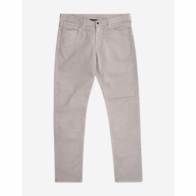 絶妙なデザイン アルマーニ メンズ Emporio Armani メンズ ジーンズ・デニム ボトムス・パンツ Logo Light Light Grey Slim Fit Logo Badge Jeans Grey, 木島平村:1cca07de --- chevron9.de