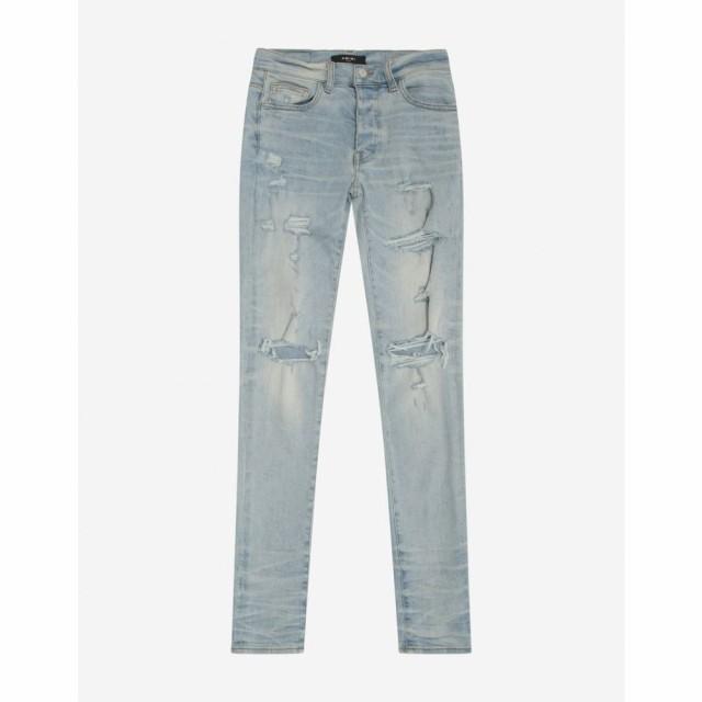 適切な価格 アミリ Amiri メンズ ジーンズ・デニム ボトムス・パンツ Thrasher Amiri Thrasher アミリ Plus Light Crafted Indigo Jeans Blue, ラブエンバシー:c5790f07 --- 1gc.de