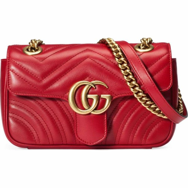 【第1位獲得!】 グッチ GUCCI レディース レディース Marmont ショルダーバッグ バッグ Mini GG Shoulder Marmont 2.0 Matelasse Leather Shoulder Bag Hibiscus Red, 激安人気新品:6f898aca --- zafh-spantec.de