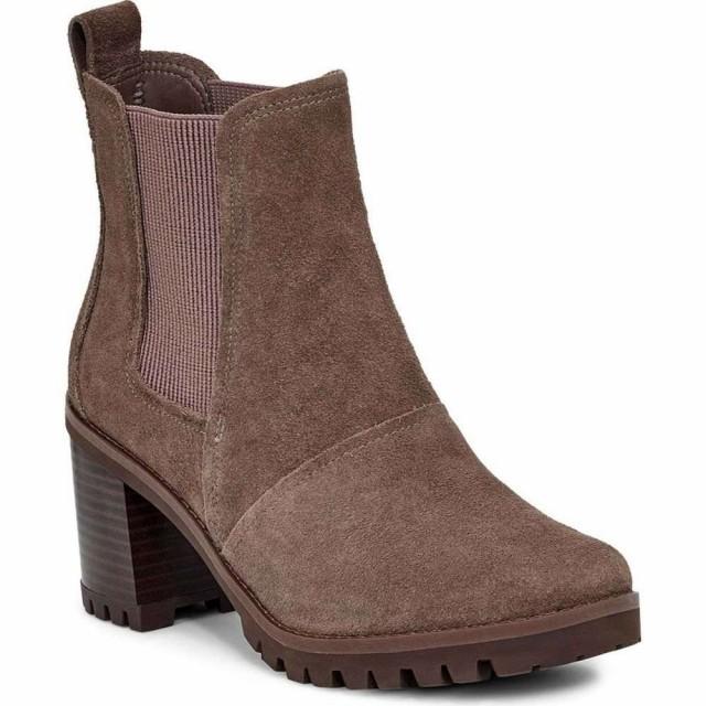 贅沢品 アグ UGG レディース ブーツ シューズ Block・靴 UGG Hazel ブーツ Waterproof Block Heel Bootie Mole Suede, diddy2012:3cc33be4 --- ai-dueren.de