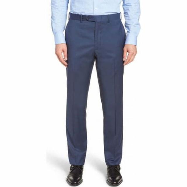 【楽天カード分割】 ノードストローム JOHN NORDSTROM W. Pants NORDSTROM メンズ スラックス ボトムス Classic・パンツ Torino Classic Fit Flat Front Solid Dress Pants French Blu, 暮らしの肌着:8653216c --- united.m-e-t-gmbh.de
