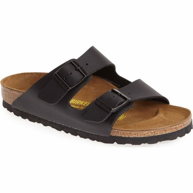 【在庫一掃】 ビルケンシュトック BIRKENSTOCK BIRKENSTOCK レディース サンダル・ミュール シューズ・靴 シューズ・靴 Arizona Arizona Birko-Flor Sandal Black Leather, 最高級のスーパー:9287f8b0 --- buergerverein-machern-mitte.de