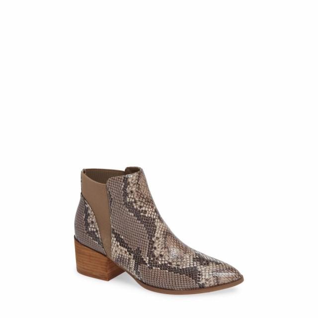優れた品質 チャイニーズランドリー CHINESE Print CHINESE LAUNDRY レディース ブーツ シューズ・靴 シューズ・靴 Finn Bootie Brown Snake Print Leather, きもの和泉:f3e4be1f --- salsathekas.de