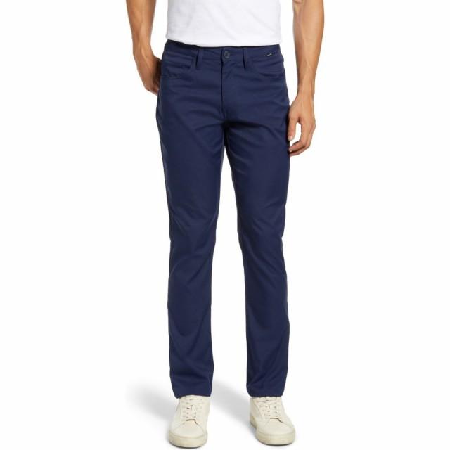 大洲市 トラビスマシュー TRAVISMATHEW メンズ スキニー・スリム ボトムス・パンツ Level Up Slim Fit Pants Navy, 高山質店 8ddee6c5