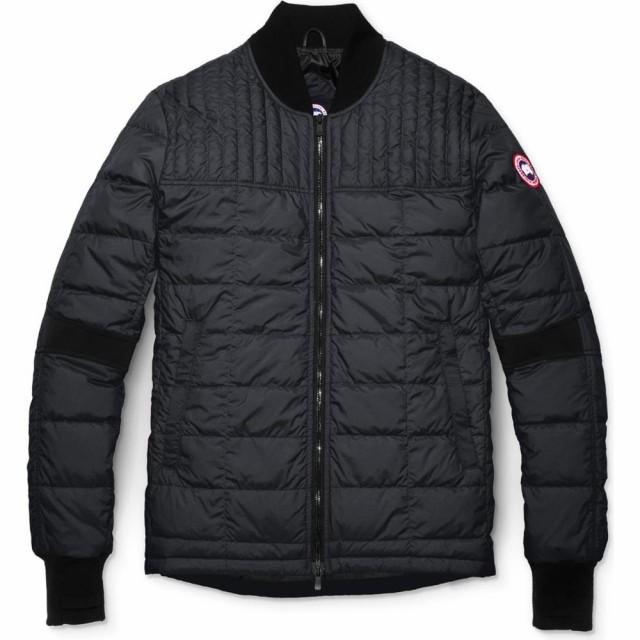 50%OFF Dunham メンズ Fit Packable カナダグース GOOSE Down ダウン・中綿ジャケット CANADA Jacket Black アウター Slim-ジャケット・アウター