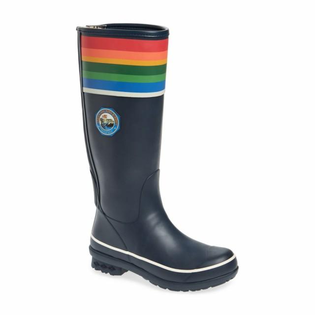 素晴らしい価格 Boot レディース Crater レインシューズ・長靴 PENDLETON ペンドルトン Lake シューズ・靴 Tall Rain National Blue Park-靴・シューズ