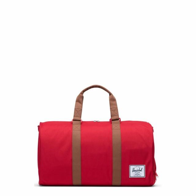 【高価値】 ハーシェル サプライ HERSCHEL SUPPLY CO. メンズ ボストンバッグ・ダッフルバッグ バッグ Novel Duffle Bag Red/Saddle Brown, 大豆パンとスイーツの店 糖限郷 5ec8b924