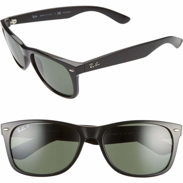 【誠実】 レイバン レイバン RAY-BAN メンズ メガネ・サングラス Sunglasses スクエアフレーム 58mm 58mm Polarized Square Sunglasses Blk Pol, 原宿フリージア:176f2799 --- bertholdhanfstein.de