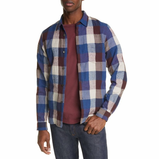 【楽天スーパーセール】 ジョン エリオット JOHN ELLIOTT メンズ シャツ フランネルシャツ トップス Sly Buffalo Check Flannel Button-Up Shirt Mendocino Check, とくしまけん 22368003
