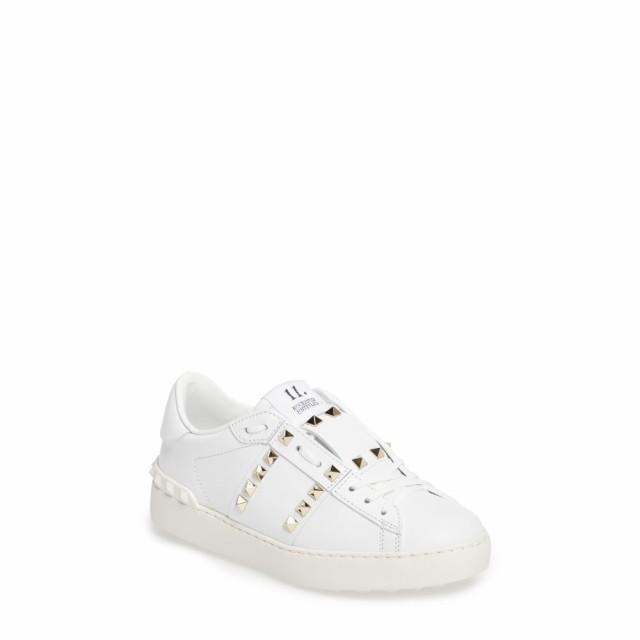 【新品】 ヴァレンティノ VALENTINO GARAVANI レディース スニーカー GARAVANI シューズ・靴 シューズ・靴 Rockstud Sneaker White White Leather, イズモザキマチ:6de63cac --- 1gc.de
