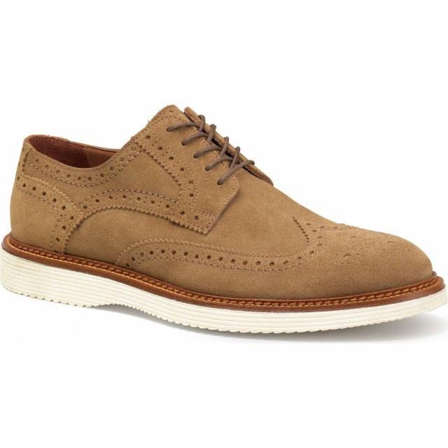 代引き人気 トラスク TRASK メンズ 革靴・ビジネスシューズ ウイングチップ シューズ・靴 Rogan Wingtip Camel Italian Suede, 加坪屋(かつぼや) 0a9ae8a9