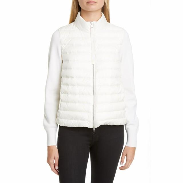 人気商品 and アウター Wool White Short Quilted Down ダウン・中綿ジャケット Jacket MONCLER モンクレール レディース-アウター