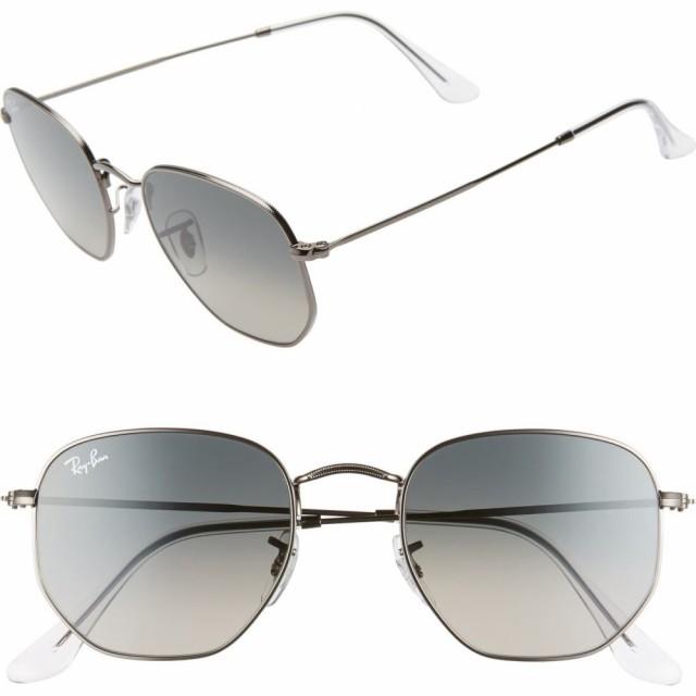 逆輸入 レイバン RAY-BAN レディース メガネ RAY-BAN・サングラス Gunmetal/Grey 51mm Aviator Aviator Sunglasses Gunmetal/Grey Gradient, IRIE LINKS:6740e5e1 --- zafh-spantec.de