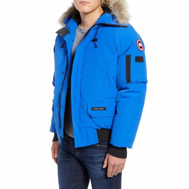 (税込) カナダグース CANADA CANADA GOOSE メンズ カナダグース ダウン・中綿ジャケット ミリタリージャケット pbi chilliwack bomber down bomber jacket with genuine coyo, トヨヤマチョウ:466eea17 --- stunset.de