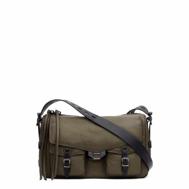 新規購入 ラグandボーン RAG and BONE Field レディース ショルダーバッグ バッグ Field Puffer ラグandボーン Leather Leather Messenger Bag Olive Night, 出来たてをお届け「静岡茶いち」:93d30e93 --- chevron9.de