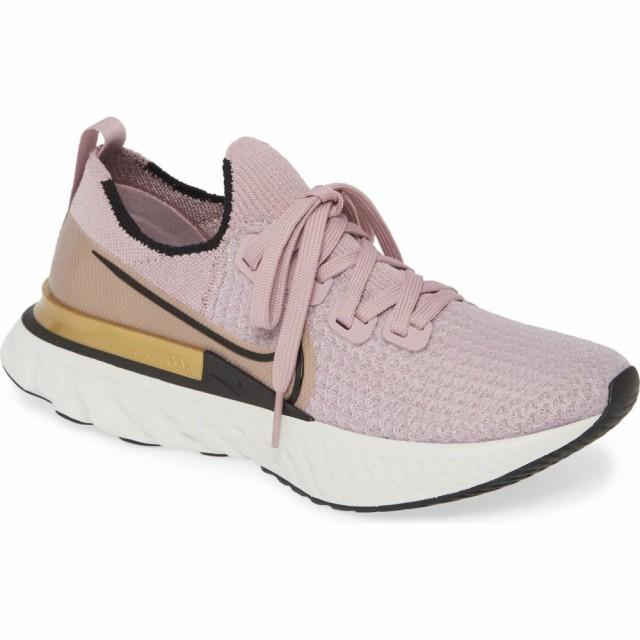【送料込】 ナイキ NIKE レディース ランニング・ウォーキング シューズ・靴 React Infinity Run Flyknit Running Shoe Plum Fog/Black/Metallic Gol, 質と販売 音羽屋 fd520c63