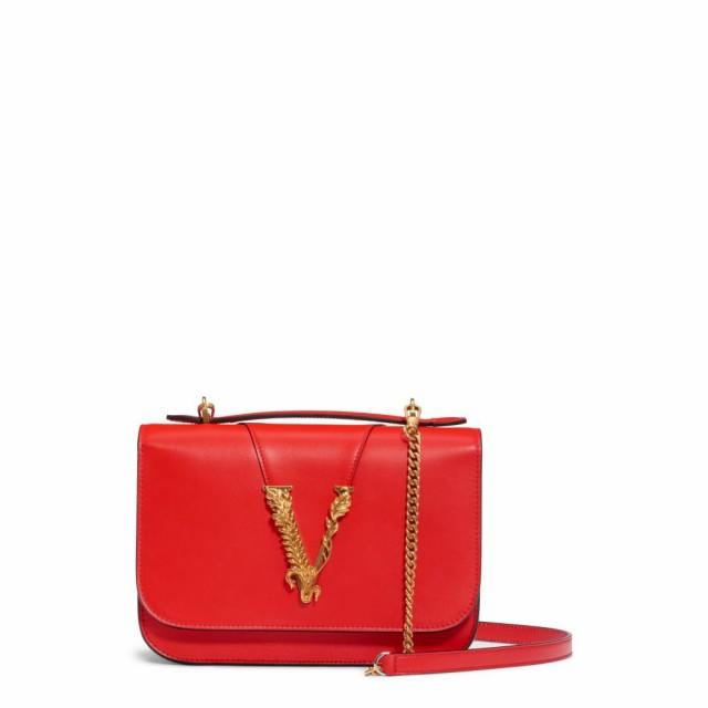 最適な材料 ヴェルサーチ VERSACE FIRST LINE レディース ハンドバッグ バッグ V Leather Top Handle Bag Eros Flame Red/Tribute Gold, 練馬区 f7f210c8
