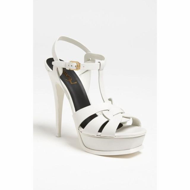 国内最安値! イヴ Sandal サンローラン SAINT LAURENT レディース サンダル LAURENT・ミュール シューズ・靴 シューズ・靴 Tribute Sandal White, 羽島市:2c4ce65f --- chevron9.de