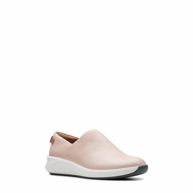 気質アップ クラークス CLARKS レディース スニーカー シューズ・靴 Un Rio Rise Sneaker Blush Leather, コウチチョウ 3b35cce9