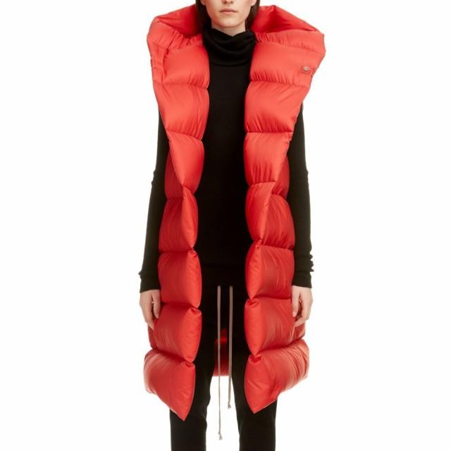 【福袋セール】 リック Vest オウエンス RICK OWENS OWENS レディース ベスト・ジレ トップス ベスト・ジレ Oversized Down Puffer Vest Red, ニシオコッペムラ:009defd5 --- buergerverein-machern-mitte.de