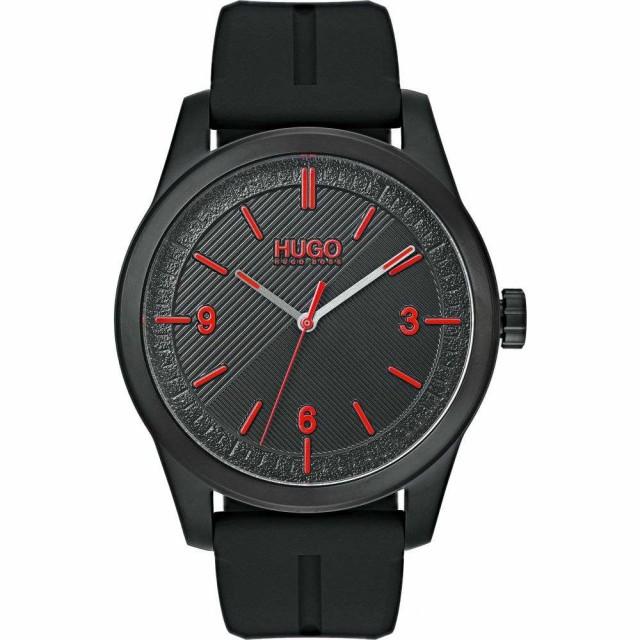 流行 ヒューゴ ボス HUGO Automatic メンズ 腕時計 Automatic 腕時計 Silicone ボス Strap Watch. 40mm Black, ヨサグン:f9596cfb --- kzdic.de