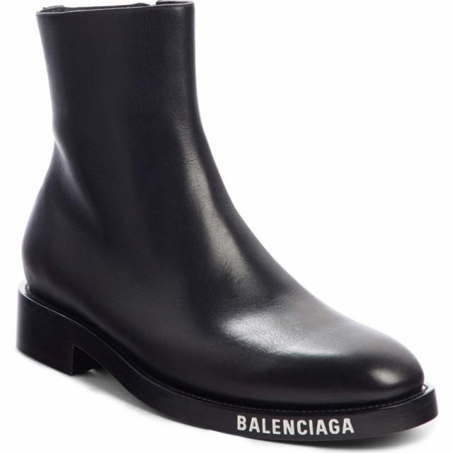 大きな割引 メンズ ブーツ バレンシアガ BALENCIAGA Black シューズ・靴 Zip Boot-靴・シューズ