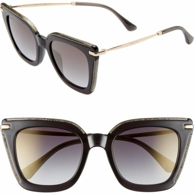 魅了 ジミー チュウ JIMMY CHOO ジミー レディース Gold メガネ・サングラス ciara 52mm Rose cat eye sunglasses Rose Gold Havana/Grey, ベースボールフィールド:ff8b7a8e --- oeko-landbau-beratung.de