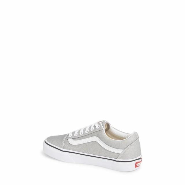 【限定製作】 ヴァンズ VANS レディース スニーカー シューズ・靴 Old Skool Sneaker Silver/True White, イーライン d265382c