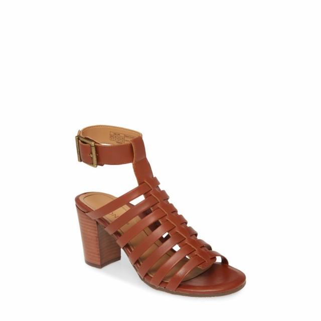 セール特価 バイオニック VIONIC レディース サンダル・ミュール シューズ・靴 Sami Cage Sandal Cognac Leather, アメリカーナ Americana 307a3d28