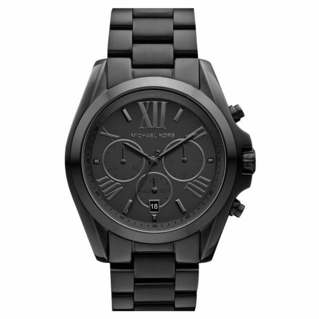 買い保障できる マイケル コース MICHAEL KORS レディース 腕時計 クロノグラフ Bradshaw Chronograph Bracelet Watch. 43mm Black, 杉戸町 bfc3500f