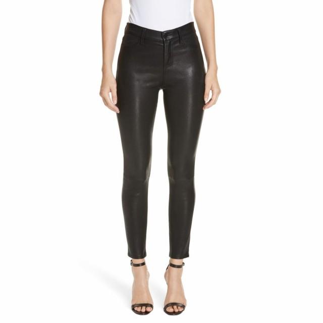優れた品質 ラジャンス Crop L'AGENCE レディース Leather クロップド Jeans ボトムス・パンツ LAGENCE Adelaide High Waist Crop Leather Jeans Noir, 下北郡:1ab6fb96 --- chevron9.de