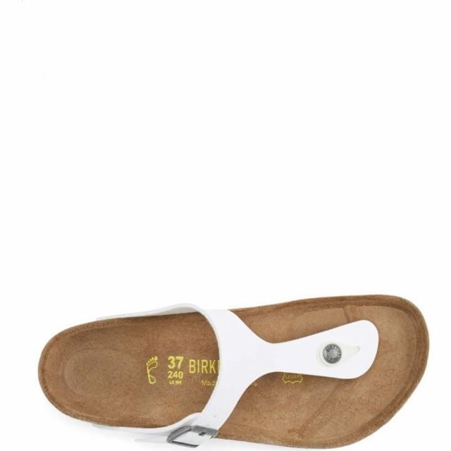 訳あり ビルケンシュトック Thong Birko-Flor BIRKENSTOCK レディース サンダル・ミュール シューズ・靴 'Gizeh' Birko-Flor シューズ・靴 Thong Sandal White, 薬草の森はくすい堂:85b083c1 --- 1gc.de
