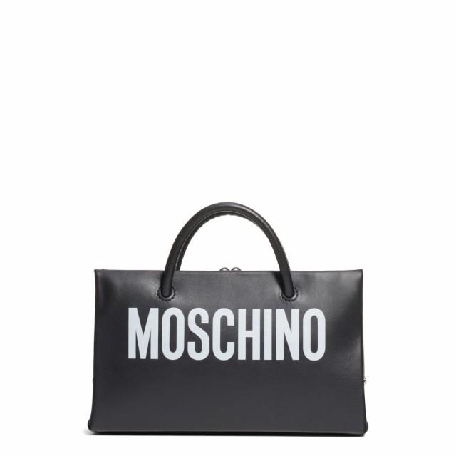 【超ポイント祭?期間限定】 モスキーノ トートバッグ MOSCHINO レディース トートバッグ バッグ Clutch Leather Small Calfskin Leather Shopper Clutch Fantasy Print Black, Mystyleインテリアストア:06010d77 --- chevron9.de
