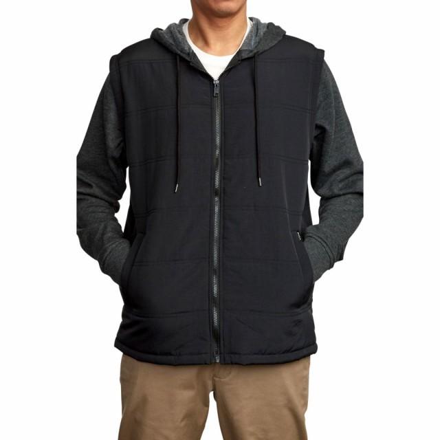 RVCA Boys Big Logan Puffer Hooded Jacket