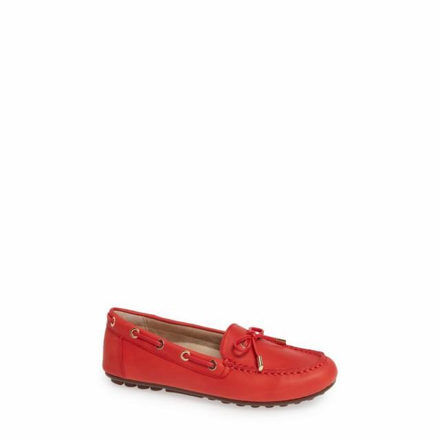 世界的に有名な バイオニック VIONIC レディース スリッポン Moccasin・フラット モカシン シューズ・靴 Cherry レディース Virginia Moccasin Cherry Leather, プレクスアウトレット:0080ca00 --- kzdic.de