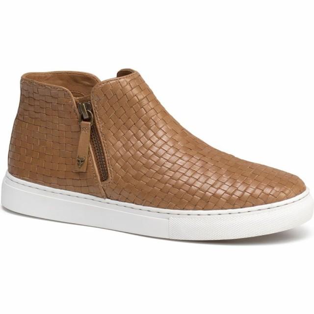 【期間限定送料無料】 トラスク TRASK レディース スニーカー シューズ・靴 Lora Woven Sneaker Bootie Tan Leather, 心斎橋ミュゼ 7b9fc0aa