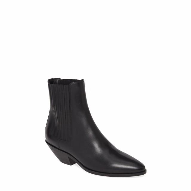 【驚きの価格が実現!】 イヴ サンローラン SAINT LAURENT レディース ブーツ チェルシーブーツ シューズ・靴 West Chelsea Boot Black Leather, がいや酒店 06789c15
