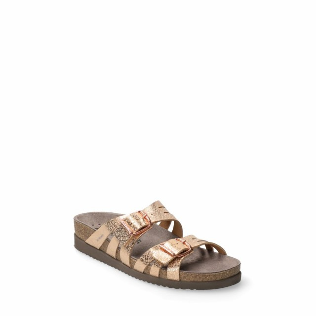 お気にいる メフィスト Copper MEPHISTO レディース Metallic Helisa サンダル・ミュール スライドサンダル シューズ・靴 Helisa Slide Sandal Copper Metallic Leather, 茂木町:537f0a17 --- pfoten-und-hufe.de