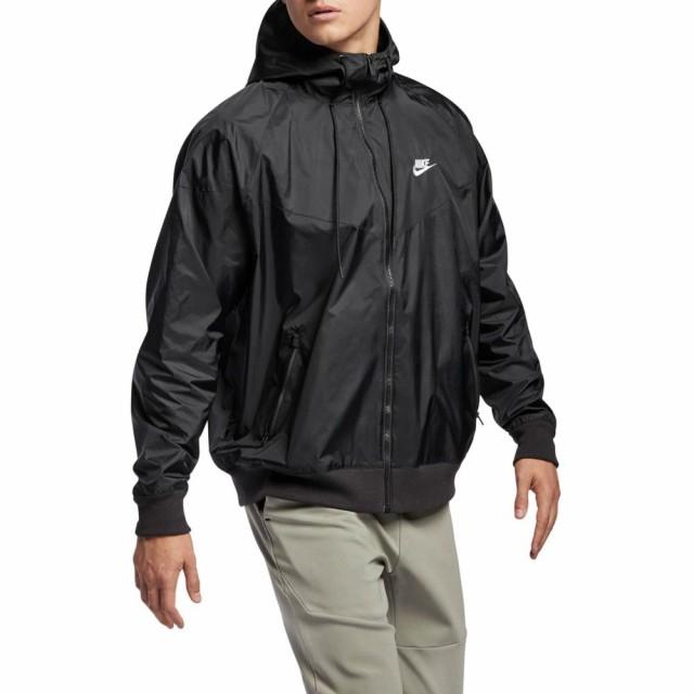 【楽ギフ_のし宛書】 ナイキ NIKE メンズ ランニング・ウォーキング ジャケット アウター Sportswear Windrunner Jacket Black/Black/Black/Sail, 玉東町 a57c0af3