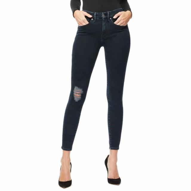 肌触りがいい グッドアメリカン GOOD AMERICAN レディース ジーンズ・デニム ボトムス・パンツ Good Legs High Waist Ankle Skinny Jeans Blue, キクマチョウ 50e2b2c2