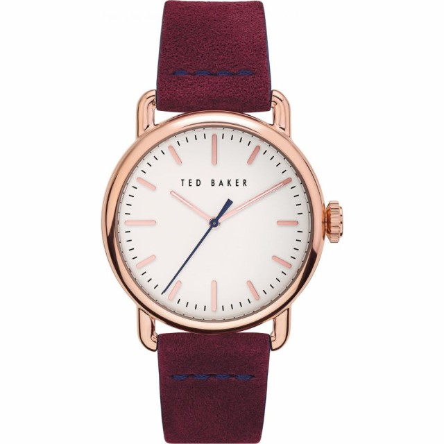 本物保証!  テッドベーカー TED BAKER LONDON メンズ 腕時計 Leather Tomcooa Leather Strap メンズ LONDON Watch. 40mm Purple/White/Rose Gold, eieistyle:455a4b1c --- kzdic.de