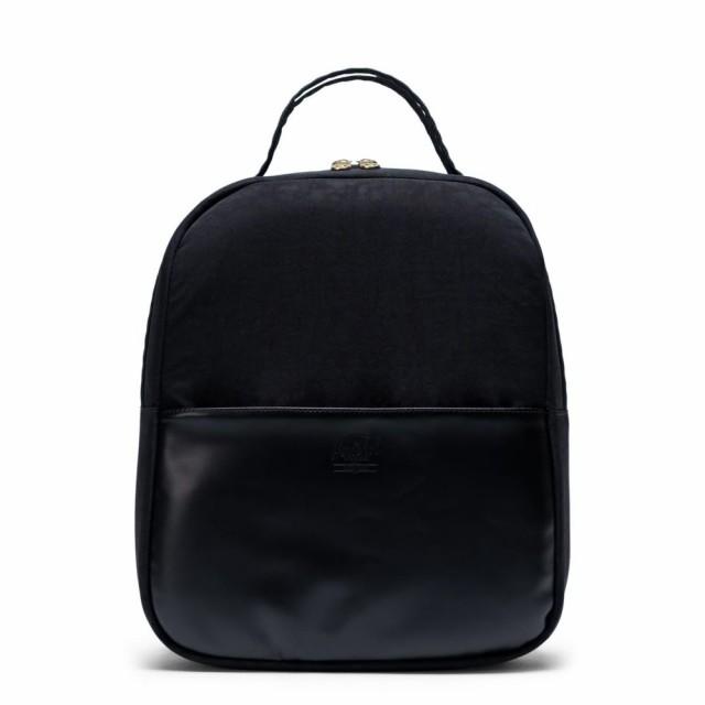 祝開店!大放出セール開催中 Black Backpack レディース HERSCHEL CO. ハーシェル Small バックパック・リュック Orion SUPPLY サプライ Leather バッグ-バッグ