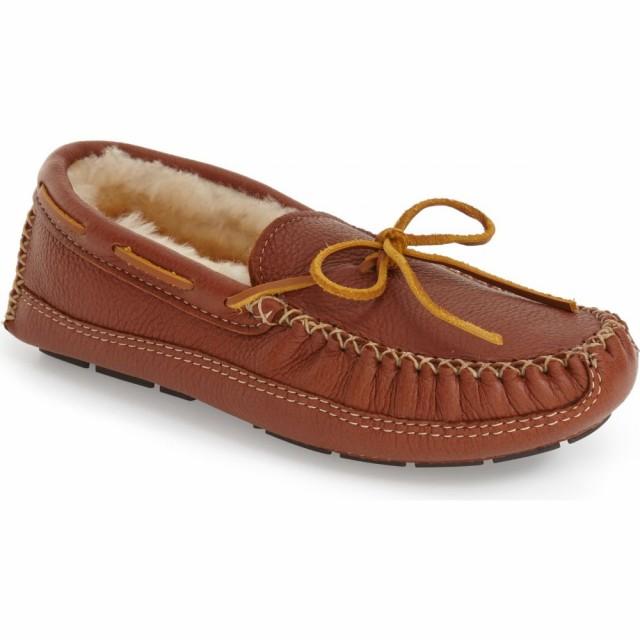 大人気 ミネトンカ ミネトンカ MINNETONKA メンズ スリッパ Shearling シアリング シアリング シューズ・靴 Genuine Shearling Leather Slipper Carmel, skywing:c22c0a23 --- kleinundhoessler.de