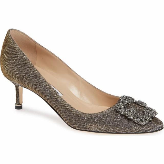最大の割引 マノロブラニク Embellished MANOLO シューズ・靴 BLAHNIK レディース パンプス Bronze シューズ・靴 Hangisi Crystal Embellished Pump Bronze Notturno, へらへとかさい:065bbc63 --- kzdic.de