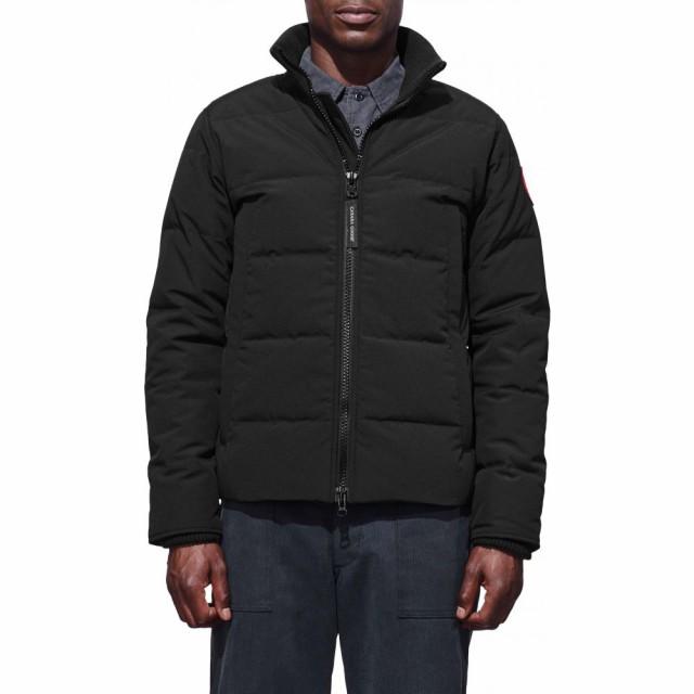 【人気No.1】 GOOSE アウター CANADA Black Fusion ダウン・中綿ジャケット カナダグース Jacket メンズ Fit Down Woolford-ジャケット・アウター