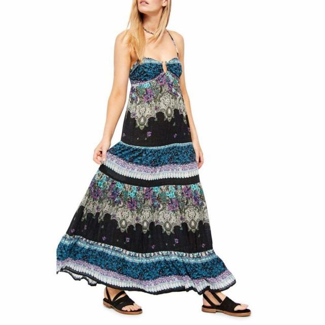 【現品限り一斉値下げ!】 フリーピープル レディース FREE PEOPLE レディース ワンピース ノースリーブ マキシ丈 ワンピース・ドレス Dress フリーピープル Give a Little Sleeveless Maxi Dress Bl, 大森西三丁目商店:6ab631a6 --- 1gc.de