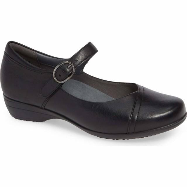 【25%OFF】 ダンスコ DANSKO レディース スリッポン・フラット シューズ Black レディース・靴 Fawna Mary DANSKO Jane Flat Black Milled Leather, 氷見市:4ffaed3a --- oeko-landbau-beratung.de